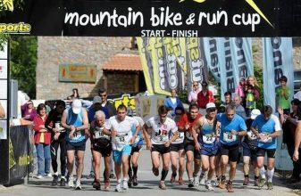Στη Κερασιά το πέμπτο Mountain Bike and Run Cup