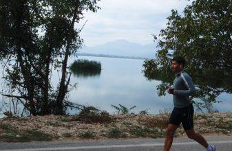 Ημιμαραθώνιος στη λίμνη Κερκίνη
