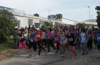 Οι γυναίκες στήριξαν το Women Run