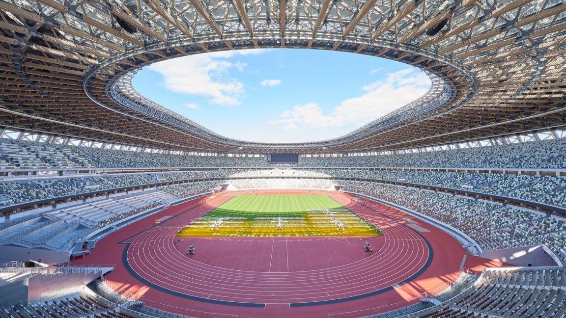 Το Ολυμπιακό Στάδιο του Τόκιο