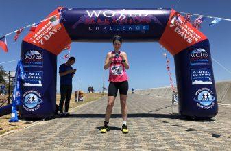 Η Madsen νικήτρια του World Marathon Challenge