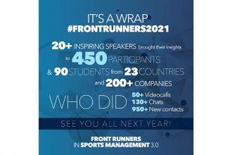 Front Runners 3.0: Πάνω από 20 σπουδαίοι ομιλητές & 450 συμμετέχοντες από 23 χώρες