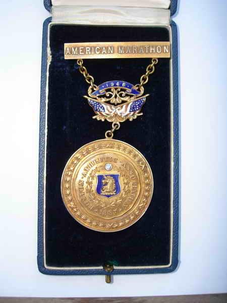 Το μετάλλιο του Στέλιου Κυριακίδη από τη Βοστόνη