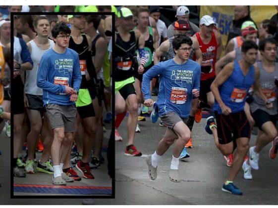 Ο Benjamin Pachev τρέχει με Crocs