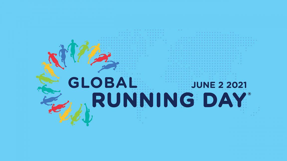 Ymittos Global Running Day 2021 λογότυπο