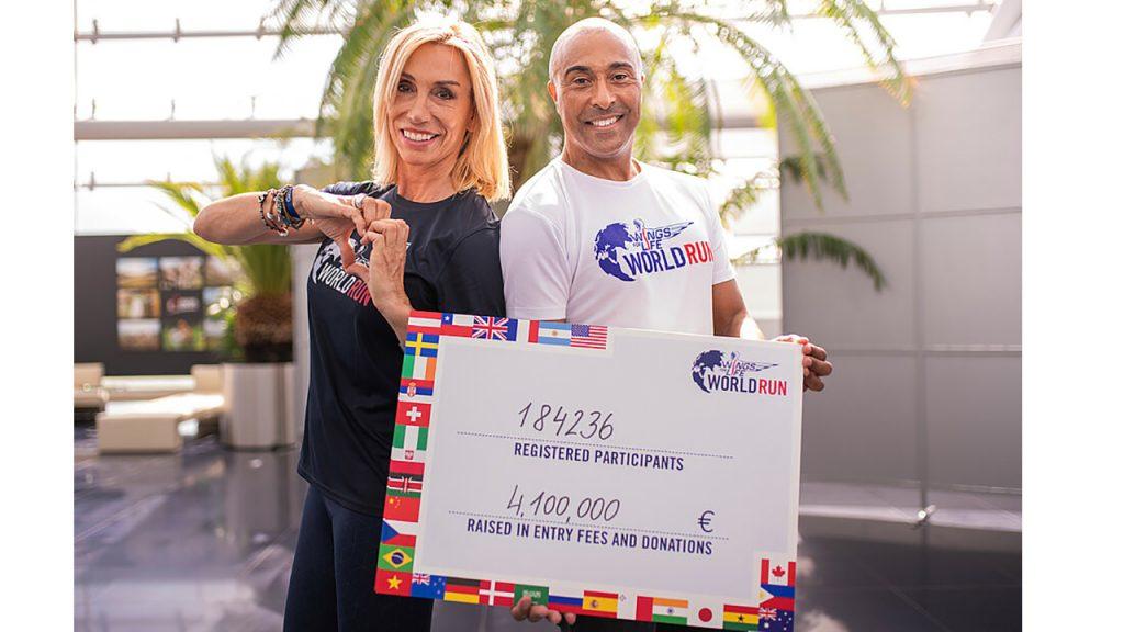 Συμμετοχές και χρηματικό ποσό του Wings for Life World Run 2021
