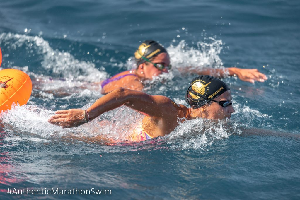 Authentic Marathon Swim by Elias Lefas