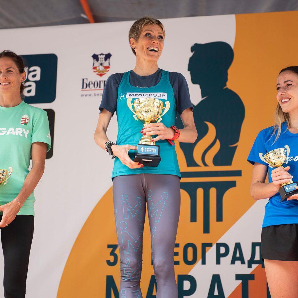 Beogradski Maraton - Νικήτριες Ημιμαραθώνιου