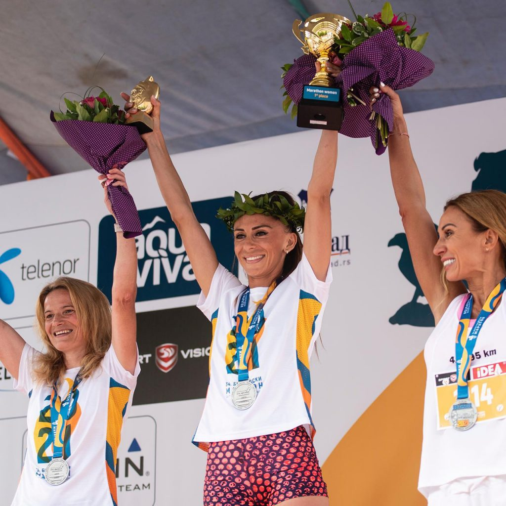Beogradski Maraton - Νικήτριες