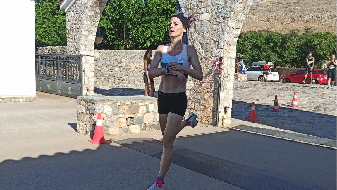 Η Κατερίνα Ασημακοπούλου τερματίζει πρώτη στο Elafonisos Run