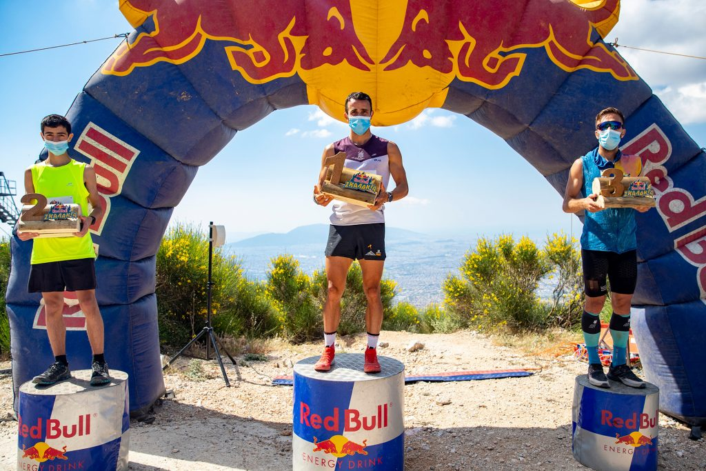 Red Bull Skalakia άντρες νικητές