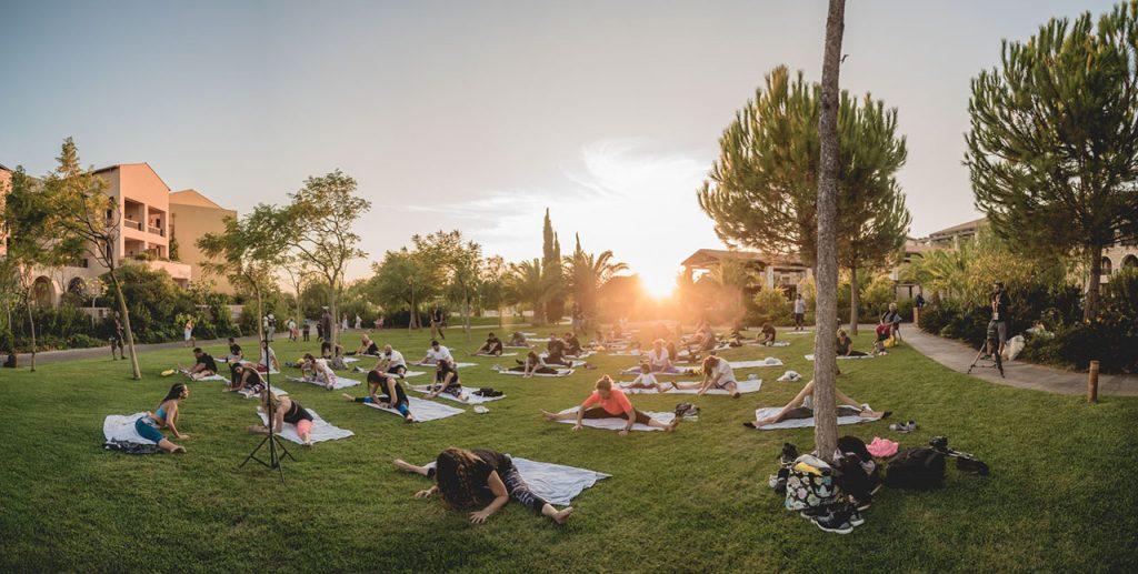 Navarino Challenge pilates yoga