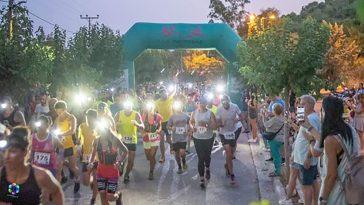 Poikilo Night Trail 2021 εκκίνηση