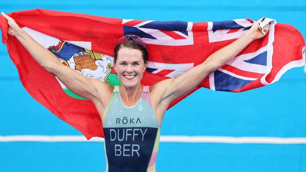 Η Flora Duffy χρυσή Ολυμπιονίκης στο Τρίαθλο