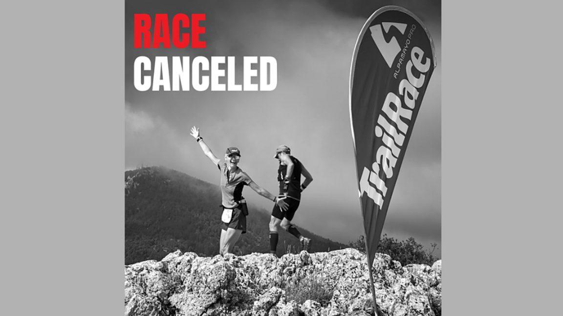 Ακύρωση του AlpamayoPRO trail race