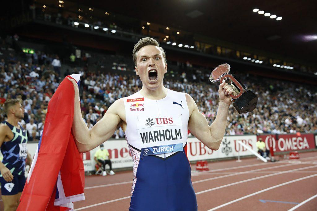 Karsten Warholm - Diamond League Zurich 2021