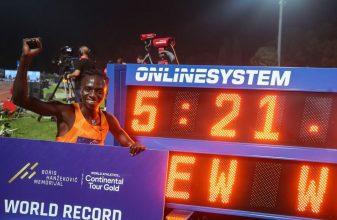Παγκόσμιο ρεκόρ στα 2.000μ. η Francine Niyonsaba