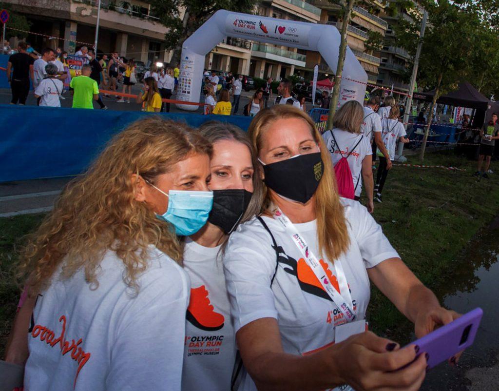 Olympic Day Run_4_Βασδέκη - Μυστακίδου – Μωραϊτίδου