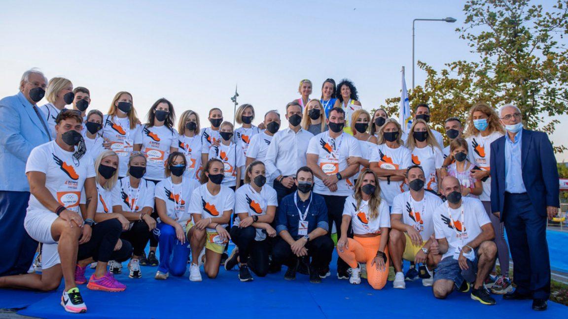 Olympic Day Run_1_Ολυμπιονίκες - Δήμαρχος Θεσσαλονίκης
