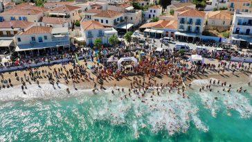 Spetses mini marathon κολύμβηση