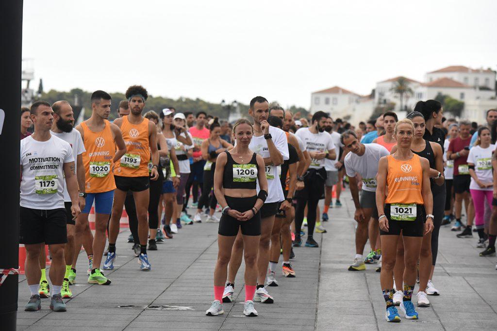 Εκκίνηση Spetses mini Marathon